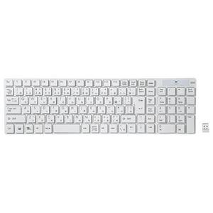サンワサプライ ワイヤレスキーボード SKB-WL13W h01