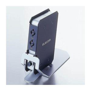 エレコム コンパクト自動パソコン切り替え器 KVM-C22 h01