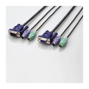 エレコム パソコン切替器用接続ケーブル KVM-NPC50 h01