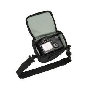 (まとめ)エツミ ガンホルダー型カメラケース トライアングル3シリーズ ブラック E-3400【×2セット】