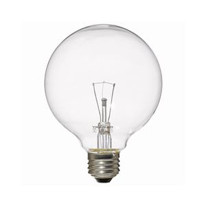 (まとめ)YAZAWAボール電球40W形クリアGC100V38W95【×10セット】