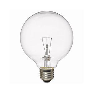 (まとめ)YAZAWAボール電球60W形クリアGC100V57W95【×10セット】