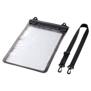 サンワサプライ タブレットPC防水ケース(~12.5インチ) PDA-TABWP12