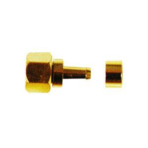 (まとめ)マックステル 金メッキ3C用接栓 1個入 FP3K-P【×20セット】