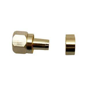 (まとめ)マックステル 金メッキ5C用接栓 1個入 FP5K-P【×20セット】
