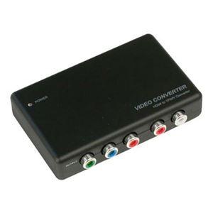 テック HDMIをコンポーネントに変換するコンバーター THDMIYP2