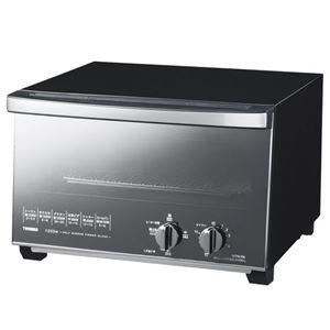 ツインバード ミラーガラスオーブントースター ブラック TS-D047B