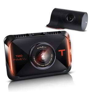 INBYTE 2カメラHD 液晶付ドライブレコーダーFineVu T20 商品画像