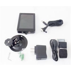 ITPROTECH トレイルカメラ HC-500A用ソーラーバッテリー YT-SOLB-HC