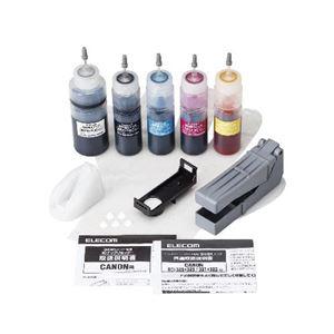 エレコム キヤノン325+326/320+321用詰め替えインクセット THC-326321RSET