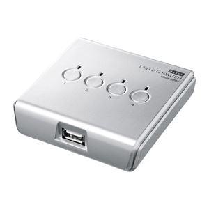 サンワサプライ USB2.0手動切替器(4回路) SW-US24N h01
