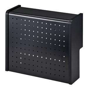 サンワサプライ ケーブル&タップ収納ボックス CB-BOXS5BKN h01