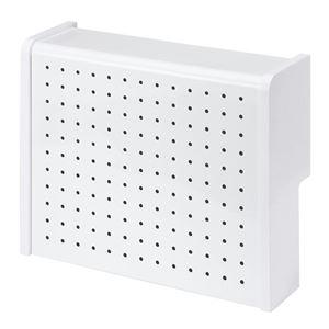 サンワサプライ ケーブル&タップ収納ボックス CB-BOXS5WN h01