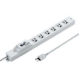 サンワサプライ 漏電ブレーカータップ TAP-BR36L-1 h01