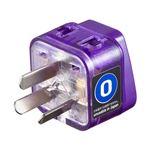 (まとめ)サンワサプライ 海外電源変換アダプタエレプラグW-O2(オーストラリア) TR-AD16【×5セット】