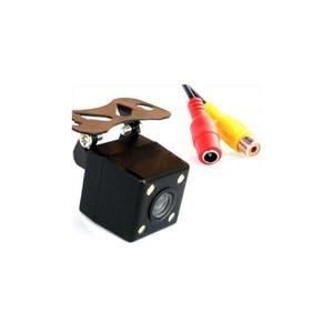 (まとめ)ITPROTECH 車載用バックカメラ 4LED搭載タイプ YT-BC02【×5セット】