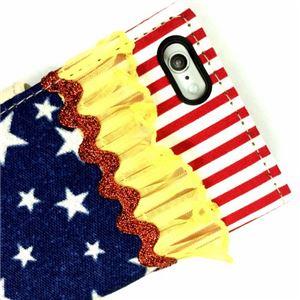 LeFreak Deadstock cloth Folio case for iPhone 6s/6 フリルレッド FAMiP-002 h02
