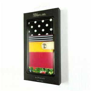 LeFreak Deadstock cloth Folio case for iPhone 6s/6 パターンC FAMiP-006 h03
