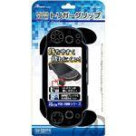 (まとめ)アンサー PS VITA2000用 トリガーグリップ(ブラック) ANS-PV048BK【×5セット】