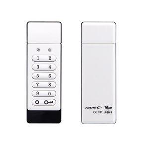 HIDISC セキュリティボタン付きUSBメモリ16GB HDSEUF112C16G2 h01