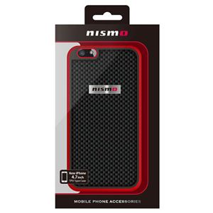 NISSAN 公式ライセンス品 NISMO CARBON Hard Case iPhone6 用 NM-P47S4RB h01