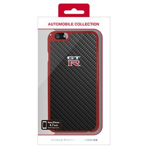 NISSAN 公式ライセンス品 GT-R CARBON HARD CASE iPhone6 用 NR-P47S1RB h01