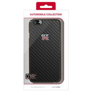 NISSAN 公式ライセンス品 GT-R CARBON HARD CASE iPhone6 PLUS用 NR-P55S1BK h01