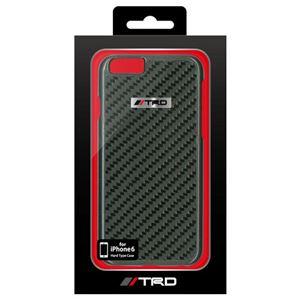トヨタ レーシング デベロップメント公式ライセンス品 Real Carbon Back Cover for iPhone6 iPhone6 用 TRD-P47S2 h01