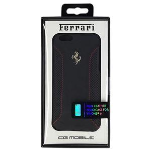 FERRARI 公式ライセンス品 F12 Hard Case Black iPhone6 用 FEF12HCP6BL h01