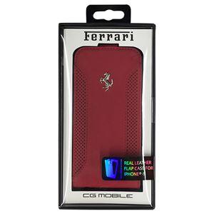 FERRARI 公式ライセンス品 F12 Flap Case Red iPhone6 用 FEF12FLP6RE h01