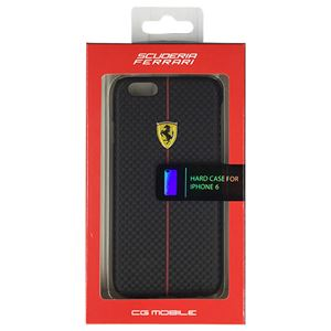 FERRARI 公式ライセンス品 FORMULA ONE Hard Case Black iPhone6 用 FEFOCHCP6BL h01