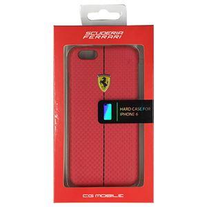 FERRARI 公式ライセンス品 FORMULA ONE Hard Case Red iPhone6 用 FEFOCHCP6RE h01