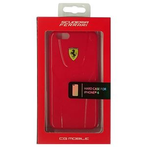 FERRARI 公式ライセンス品 3D Hard Case Red iPhone6 用 FE3DHCP6RE h01