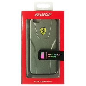 FERRARI 公式ライセンス品 3D Hard Case Silver Metallic iPhone6 用 FE3DHCP6DG h01
