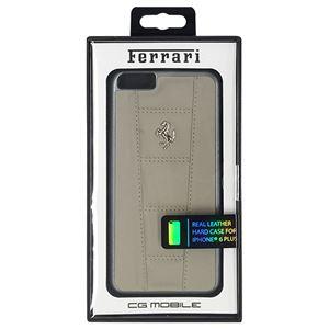 FERRARI 公式ライセンス品 458 Dark Gray Leather Hard Case iPhone6 PLUS用 FE458HCP6LGR h01