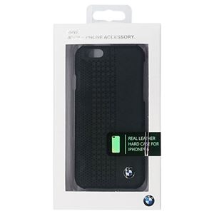 BMW 公式ライセンス品 Hard case Perforated Black iPhone6 用 BMHCP6PEB h01
