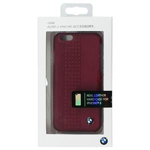 BMW 公式ライセンス品 Hard case Perforated Red iPhone6 用 BMHCP6PER h01