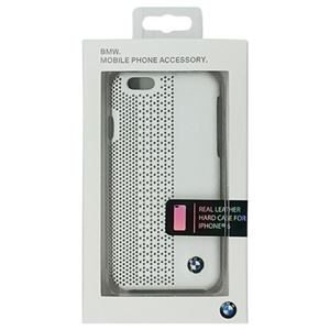 BMW 公式ライセンス品 Hard case Perforated White iPhone6 用 BMHCP6PEW h01