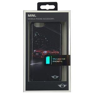 (まとめ)MINI 公式ライセンス品 STREET CARS Hard Case Red MINI iPhone6 用 MNHCP6PNMR【×2セット】 h01