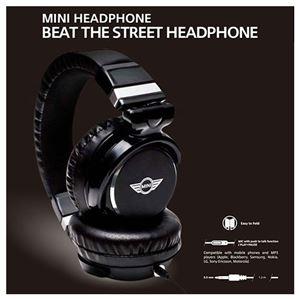 MINI 公式ライセンス品 HEAD PHONE 3.5ステレオプラグ MNHP104BL h01