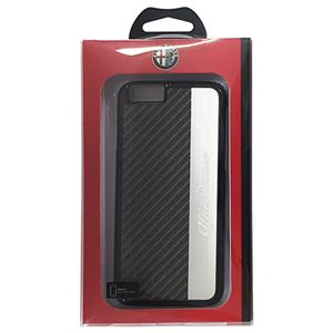 Alfa Romeo 公式ライセンス品 High Quality PC Back Cover iPhone6 用 AR-HCIP6-AR/D5-BK h01