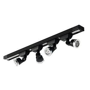 HOBBYLIGHT 小型トラック照明セット 黒 3000K TL062BK3000