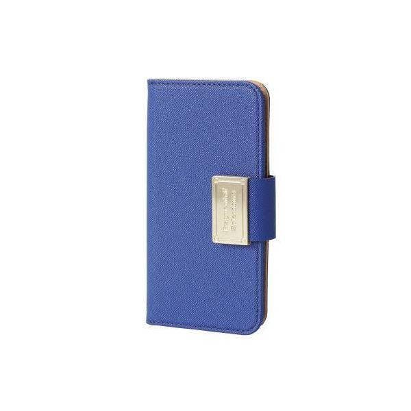 (まとめ)エレコム iPhone SE/5s/5用ソフトレザーカバー/スナップ PM-A16SPLFBBU【×2セット】f00