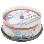 (まとめ)hp DVD-R インクジェットプリンター対応ホワイトワイドレーベル(内径23mm) sp(CB) 25枚 DR120CHPW25PA【×5セット】