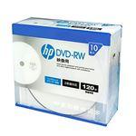 (まとめ)hp DVD-RW インクジェットプリンター対応ホワイトワイドレーベル(内径23mm) スリム(Slim) 10枚 DRW120CHPW10A【×5セット】