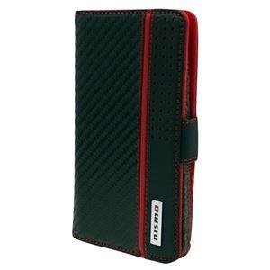 エアージェイ NISMO Universal Book Type Case for Smartphone Leather S Size NM-SAM1BK h01