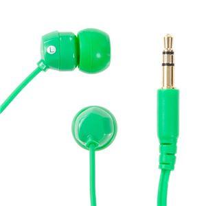 NAGAOKA カナル型インナーイヤーヘッドホン Green OM101/GR【×5セット】 h02