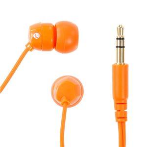 NAGAOKA カナル型インナーイヤーヘッドホン Orange OM101/OR【×5セット】 h02