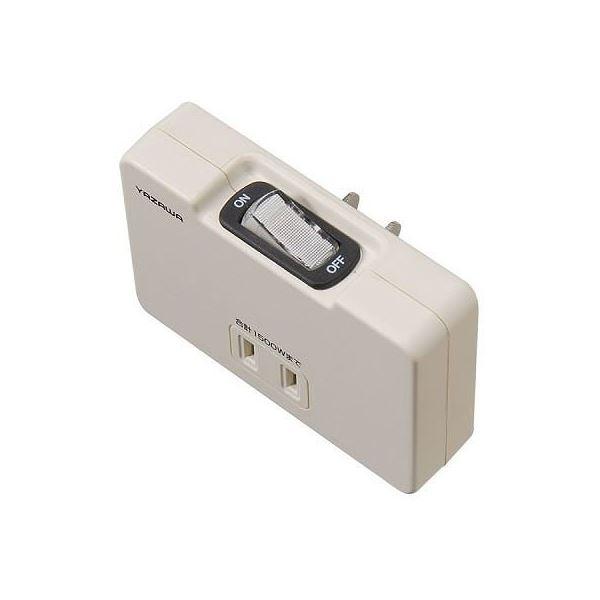 (まとめ)YAZAWA 集中スイッチ付アンダータップ Y02FU310WH【×10セット】f00