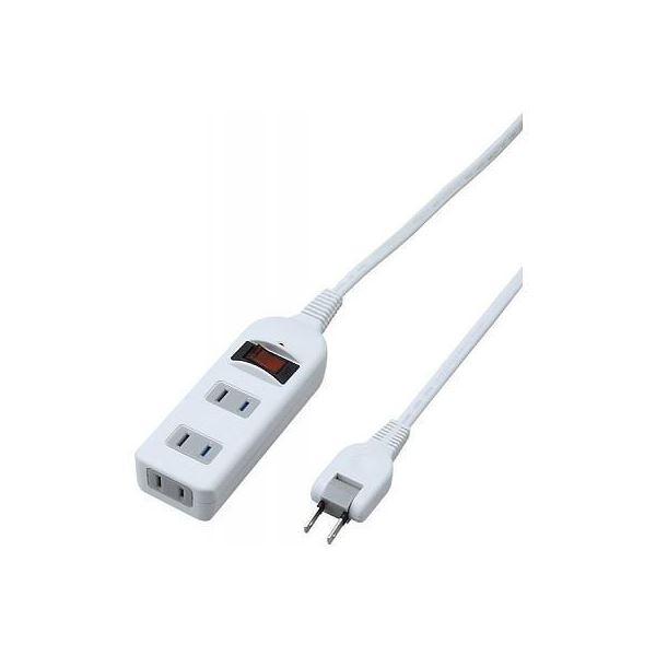 (まとめ)YAZAWA ノイズフィルター集中スイッチ付タップ Y02BKNS312WH【×5セット】f00